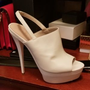 Heel shoes  size 37.5 or 8
